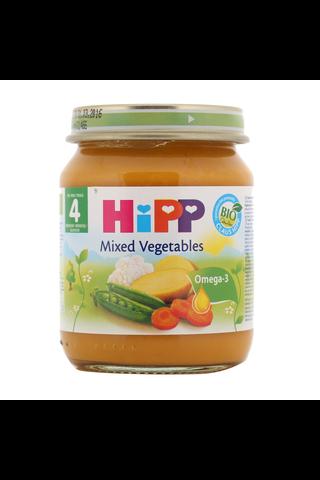 HIPP juurviljapüree BIO 4+kuud 6x125g