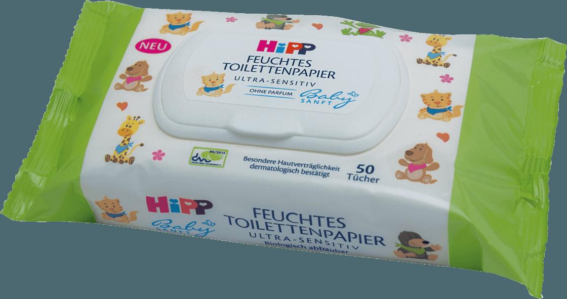 Hipp Babysanft niisked laste tualettpaberid 50 tk