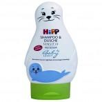 HIPP Babysanft shampoon ja pesugeel hülgekujulises pakendis 200ml