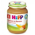 HIPP Banaanipüree aprikoosidega BIO 6x125g