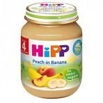 HIPP Banaanipüree virsikuga BIO 6x125g