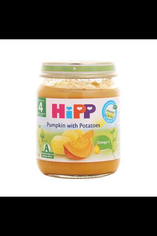HIPP Kõrvitsapüree kartuliga BIO 4+kuud 6x125g