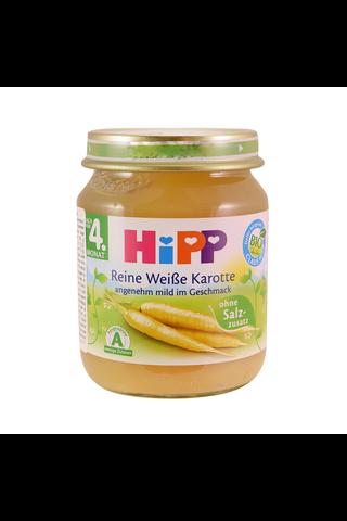 HIPP Valge porgandi püree BIO 4+kuud 6x125g