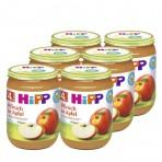 HIPP Virsikupüree õunaga BIO 6x125g
