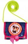 Hobusesõprade kaelaskantav rahakott