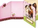 Hobusesõprade kaart-kutse ümbrikuga 8tk