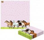 Hobusesõprade salvrätikud, 20 tk