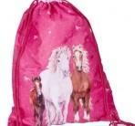 Hobusesõprade spordikott-sussikott roosa