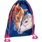 Hobusesõprade väike seljakott-sussikott