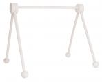 JaBaDaBaDo mänguasjade riputamiseks puidust hoidja valge