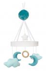 JaBaDaBaDo muusikaga voodikarussell Kuu&Pilved sinine