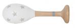 JaBaDaBaDo puidust marakas valge