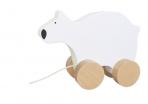 JaBaDaBaDo puidust väike ratastel Jääkaru