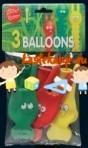 Õhupallid jänesenäoga