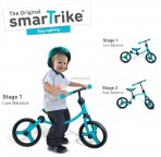 Smart Trike jooksuratas 2in1 türkiis