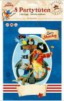 Kapten Sharky sünnipäeva kilekotid, 8 tk