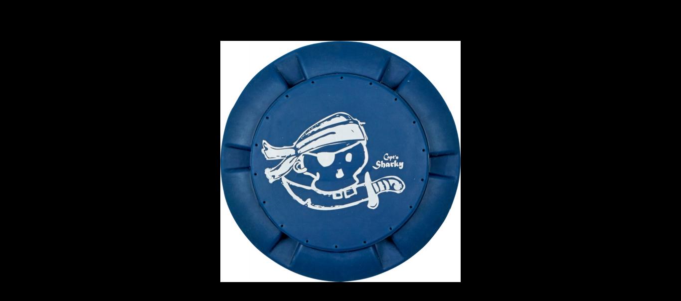 Kapten Sharky lendav taldrik