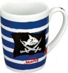 Kapten Sharky tass klaasist