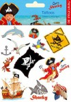 Kapten Sharky tätoveeringud