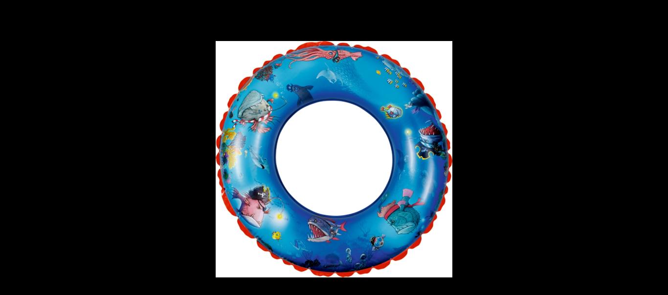 Kapten Sharky suur ujumisrõngas