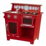 KidKraft väike mänguköök Classic punane