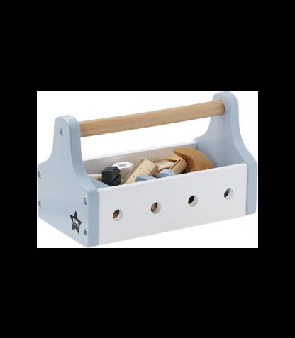 Kids Concept puidust tööriistakarp Star sinine