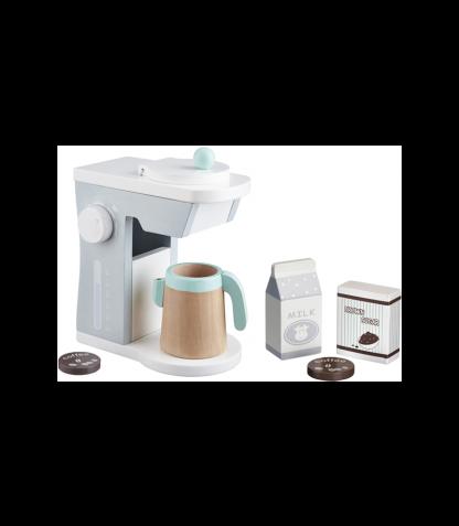 Kids Concept puidust mängu kohvi valmistamise komplekt