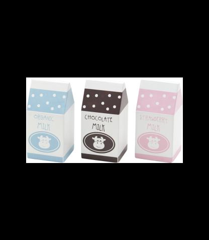 Kids Concept puidust mängutoit Piimapakid
