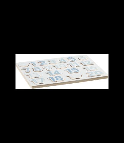 Kids Concept puidust numbripusle sinine