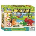 KidsDough voolimiskomplekt Dino