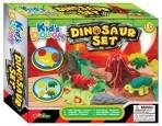 KidsDough voolimiskomplekt Dinosaurused