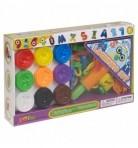 KidsDough voolimiskomplekt Tähtede ja numbrite õppimiseks