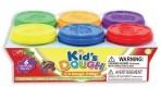 KidsDough värvilised voolimisvahad 6 x 140g