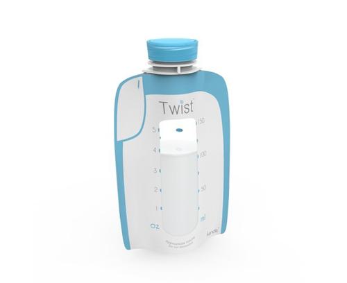Kiinde Twist rinnapiima säilituskotid 175ml 40tk