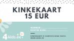 Kinkekaart 15 Eurot
