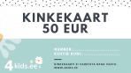 Kinkekaart 50 Eurot