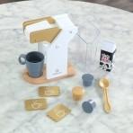 KidKraft kohvikomplekt Modern Metallics