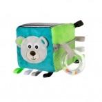 Canpol pehme arendav kuubik  Bears  sinine/roheline