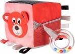 Canpol  pehme arendav  kuubik  Bears  roosa