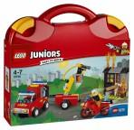 LEGO Juniors Tuletõrjemeeskonna kohver
