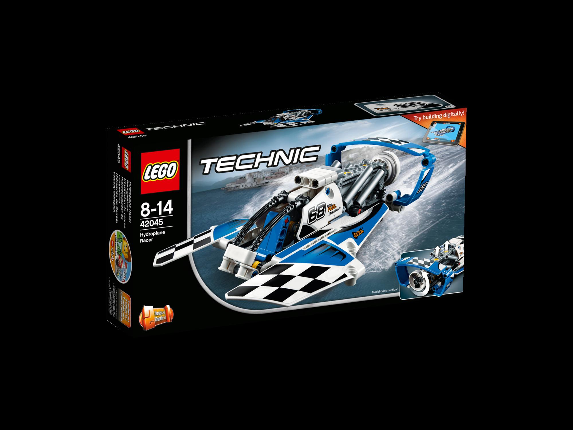 LEGO Technic Võidusõidu vesilennuk