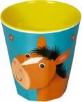 Lõbus Loomaparaad joogitops melamiinist Hobune