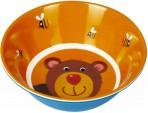 Lõbus Loomaparaad kauss melamiinist Karu