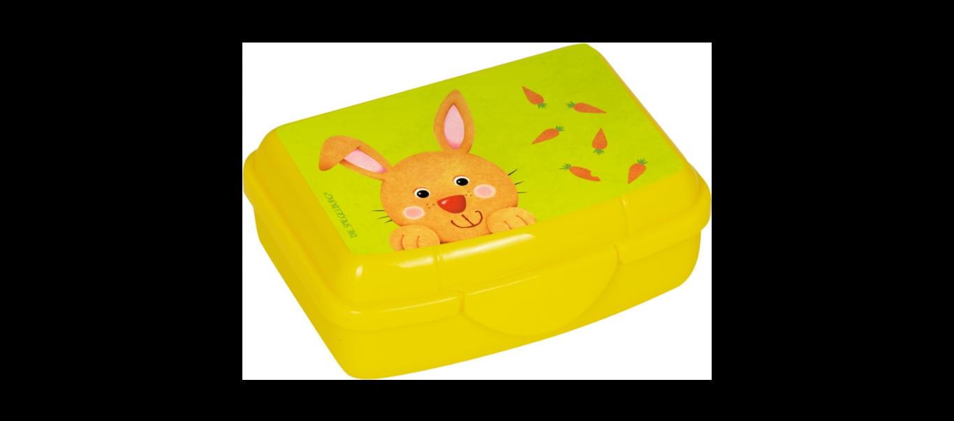 Lõbus Loomaparaad mini snäki-karp Jänku