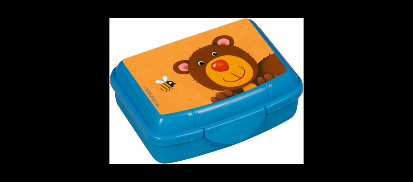 Lõbus Loomaparaad mini snäki-karp Karu