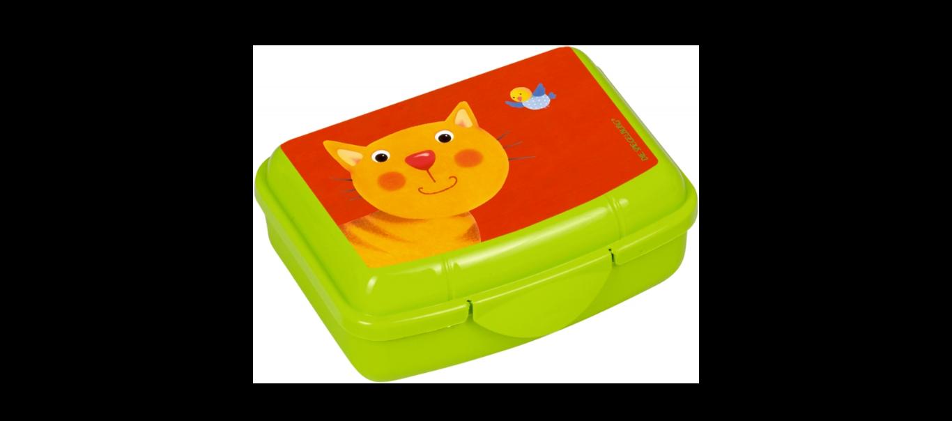 Lõbus Loomaparaad mini snäki-karp Kass