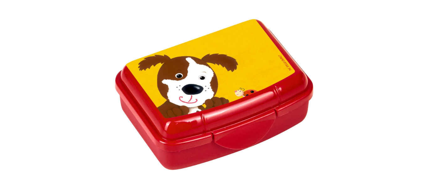Lõbus Loomaparaad mini snäki-karp Koer