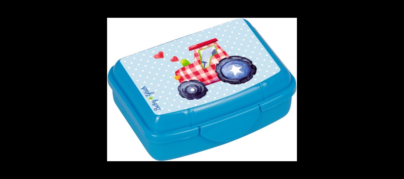 Lõbus Loomaparaad mini snäki-karp Traktor