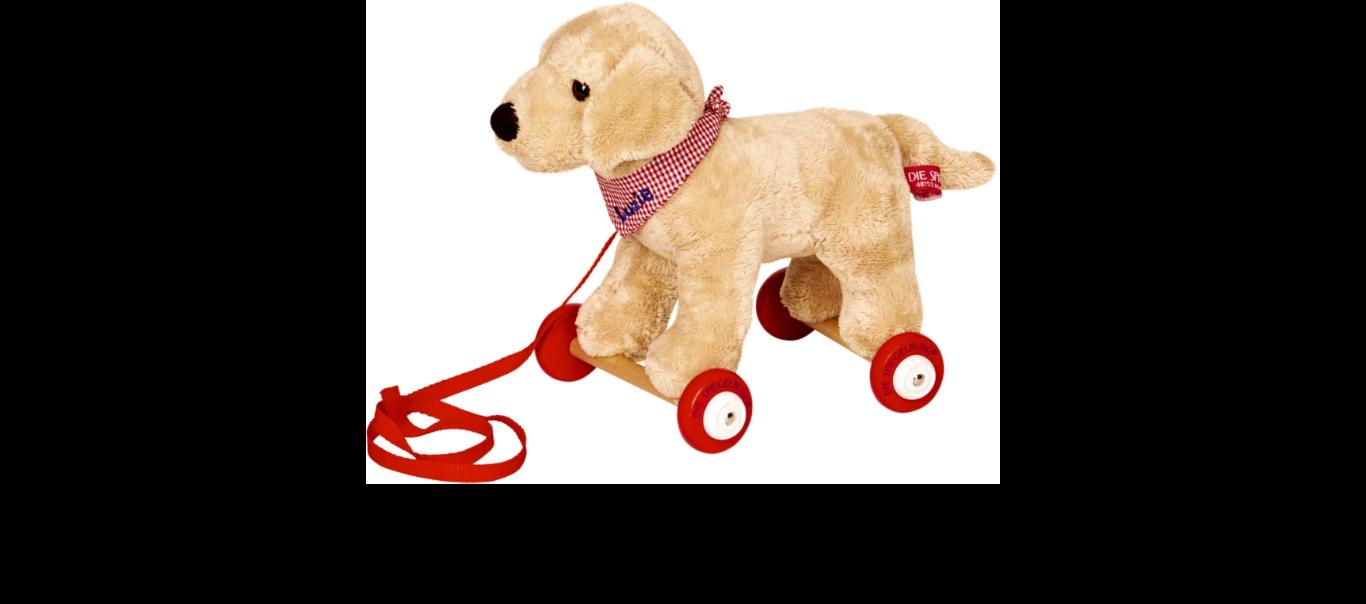 Lõbus Loomaparaad ratastel mänguasi Labrador Luzie