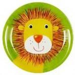Lõbus Loomaparaad taldrik melamiinist Lõvi